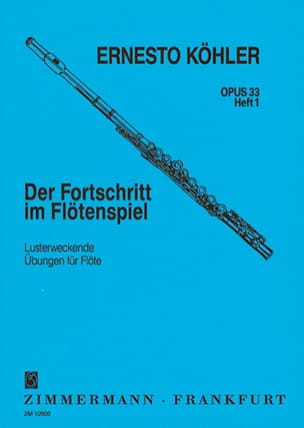 Ernesto KÖHLER - Der Fortschritt, Op. 33 - Volume 1 - Sheet Music - di-arezzo.co.uk