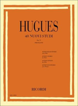 40 Nouvelles études op. 75 Louis Hugues Partition laflutedepan