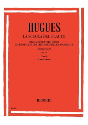 Louis Hugues - School of the flute op. 51 - Volume 4 - Sheet Music - di-arezzo.com