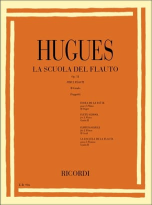 Louis Hugues - School of the Flute Op. 51 Volume 2 - Sheet Music - di-arezzo.co.uk