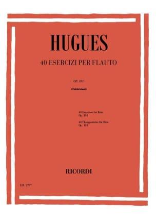 40 Etudes op. 101 - Flûte Louis Hugues Partition laflutedepan