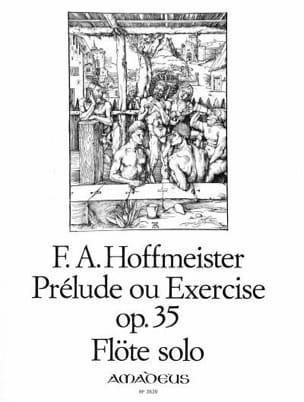 Prélude ou Exercice op. 35 - Flûte solo HOFFMEISTER laflutedepan