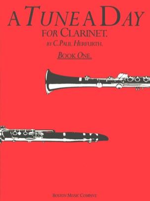 A Tune A Day Volume 1 - Clarinet C. Paul Herfurth laflutedepan