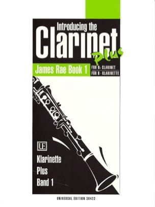 Introducing the clarinet plus - Book 1 - James Rae - laflutedepan.com