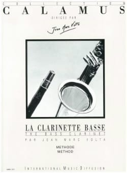 Jean-Marc Volta - The bass clarinet - Method - Sheet Music - di-arezzo.co.uk