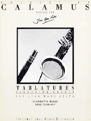 Jean-Marc Volta - Tablatures – Clarinette Basse - Partition - di-arezzo.fr