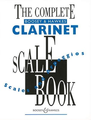 The Complete Clarinet Scale Book Partition laflutedepan