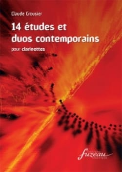 Claude Crousier - 14 Contemporary Studies and Duos - Sheet Music - di-arezzo.co.uk