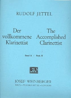 Rudolf Jettel - The accomplished clarinettist - Volume 2 - Sheet Music - di-arezzo.com