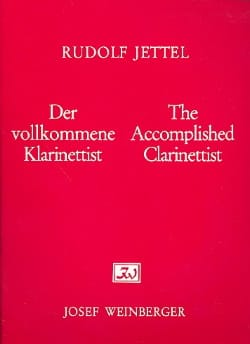 Rudolf Jettel - The accomplished clarinettist - Volume 3 - Sheet Music - di-arezzo.com