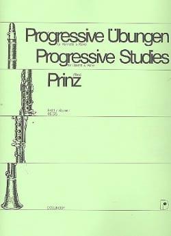 Alfred Prinz - Progressive Übungen Heft 1) - Klarinette - Partition - di-arezzo.fr
