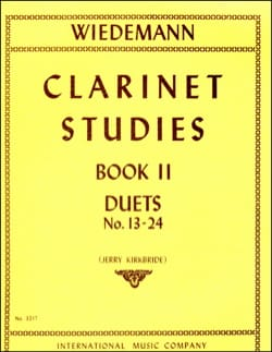 Ludwig Wiedemann - Clarinet Studies - Volume 2 - Partition - di-arezzo.fr