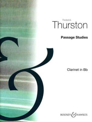 Frederick Thurston - Estudios de pasaje - Volumen 3 - Partitura - di-arezzo.es