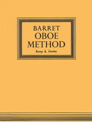 A. M. R. Barret - Oboe Method - Partition - di-arezzo.fr