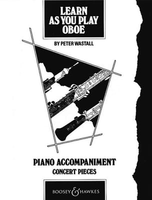Peter Wastall - Learn as you play oboe - Piano accompagnement - Partition - di-arezzo.fr