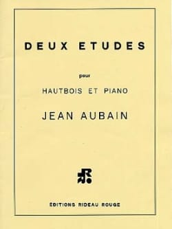 Jean Aubain - 2 Etudes for oboe and piano - Sheet Music - di-arezzo.co.uk