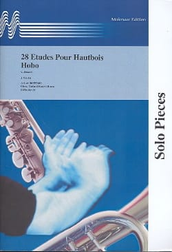 Carlo Besozzi - 28 Studies for oboe - Sheet Music - di-arezzo.co.uk