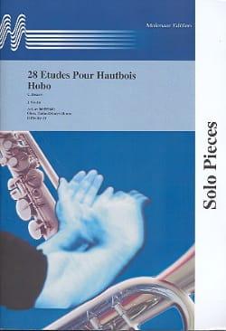 Carlo Besozzi - 28 Etudes pour hautbois - Partition - di-arezzo.fr