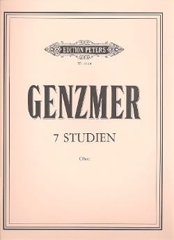 Harald Genzmer - 7 Studien - Oboe - Sheet Music - di-arezzo.co.uk
