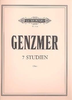 Harald Genzmer - 7 Studien - Oboe - Sheet Music - di-arezzo.com