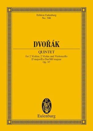 Antonin Dvorak - Quintett Es-Dur, op. 97 (B 80) Es-Dur - Partition - di-arezzo.fr