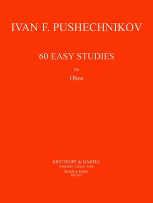 E. A. Pushechnikov - 60 Easy Studies - Partition - di-arezzo.fr