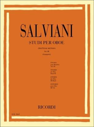 Studi per oboe - Volume 3 - Clemente Salviani - laflutedepan.com