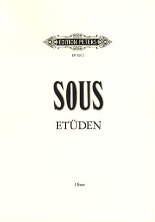 Alfred Sous - Etüden für Oboe - Sheet Music - di-arezzo.co.uk