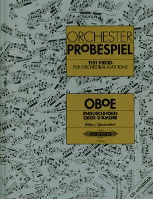 Miller Vojislav / Liebermann Winfried - Orchestral strokes for oboe, English horn and oboe d'amore - Sheet Music - di-arezzo.com
