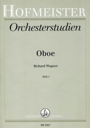 Richard Wagner - Orchesterstudien - Heft 1 - Oboe - Partition - di-arezzo.fr