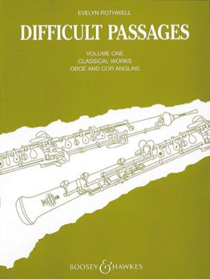Evelyn Rothwell - Difficult passages - Volume 1 - Oboe / Cor anglais - Partition - di-arezzo.fr