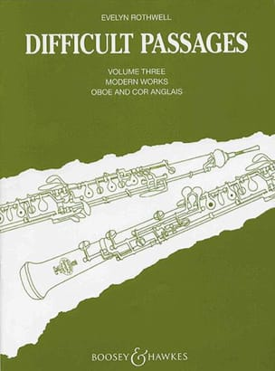 Difficult passages - Volume 3 - Oboe / Cor anglais laflutedepan