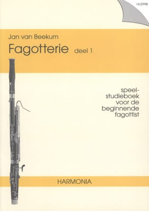 Jan van Beekum - Fagotterie - Deel 1 - Sheet Music - di-arezzo.co.uk