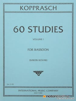 C. Kopprasch - 60 Studies - volume 1 - Sheet Music - di-arezzo.com