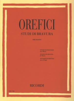 Studi di Bravura Alberto Orefici Partition Basson - laflutedepan