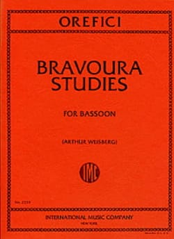 Alberto Orefici - Bravoura studies - Sheet Music - di-arezzo.co.uk
