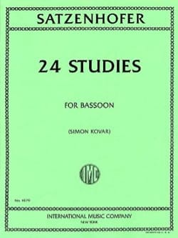 Satzenhofer - 24 Studies - Sheet Music - di-arezzo.com