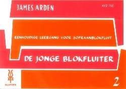 De Jonge Blokfluiter – Volume 2 - James Arden - laflutedepan.com