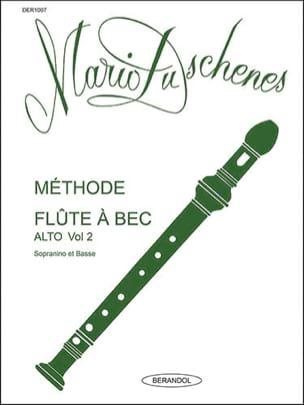 Mario Duschenes - Méthode de Flûte A Bec - Volume 2 - Alto - Partition - di-arezzo.fr