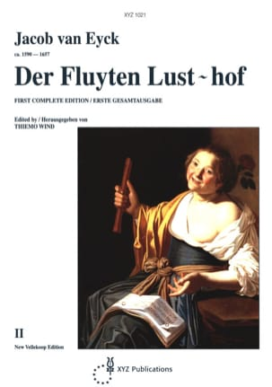 Jacob van Eyck - Der Fluyten Lust-hof - Bd. 2 - Partition - di-arezzo.co.uk
