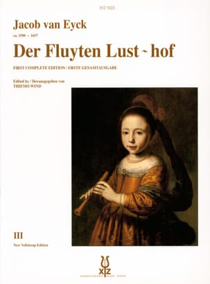 Jacob van Eyck - Der Fluyten Lust-hof - Bd. 3 - Sheet Music - di-arezzo.com