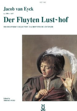 Jacob van Eyck - Der Fluyten Lust-hof for beginners - Sheet Music - di-arezzo.co.uk