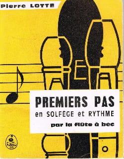 Pierre Lotte - Primeros pasos en teoría musical y ritmo. - Partitura - di-arezzo.es