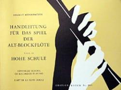 Helmut Mönkemeyer - Handleitung für das Spiel der Alt-Blockflöte Volume 2 - Partition - di-arezzo.fr