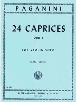 24 Caprices op. 1 Flesch PAGANINI Partition Violon - laflutedepan