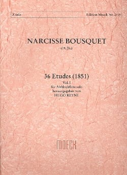 Narcisse Bousquet - 36 Etudes 1851 - Volume 1 - Sheet Music - di-arezzo.co.uk