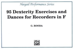 G. Rooda - 95 Dexterity exercises and Dances - Recorders in F - Sheet Music - di-arezzo.co.uk