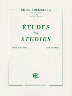 Steven Rosenberg - Etudes - Alto Recorder - Sheet Music - di-arezzo.co.uk