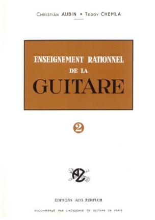 Aubin Christian / Chemla Teddy - Enseignement rationnel de la guitare - Volume 2 - Partition - di-arezzo.fr