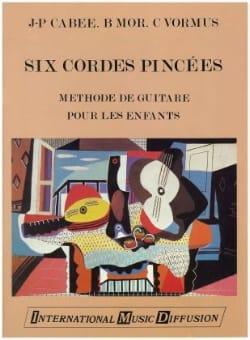 Cabee J. P. / Mor B. / Vormus C. - 6 Cordes pincées - Partition - di-arezzo.fr